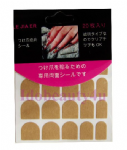 NAIL Tabs  pack for sticking nail without glue peel off and stick clear x20 tabs